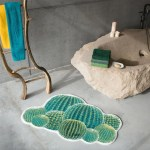 Cactus Bath Rug By Abyss And Habidecor