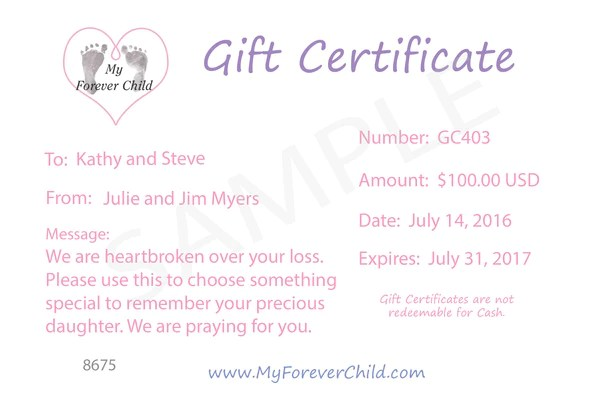 Miscarriage Jewelry Miscarriage Gifts Infant Loss
