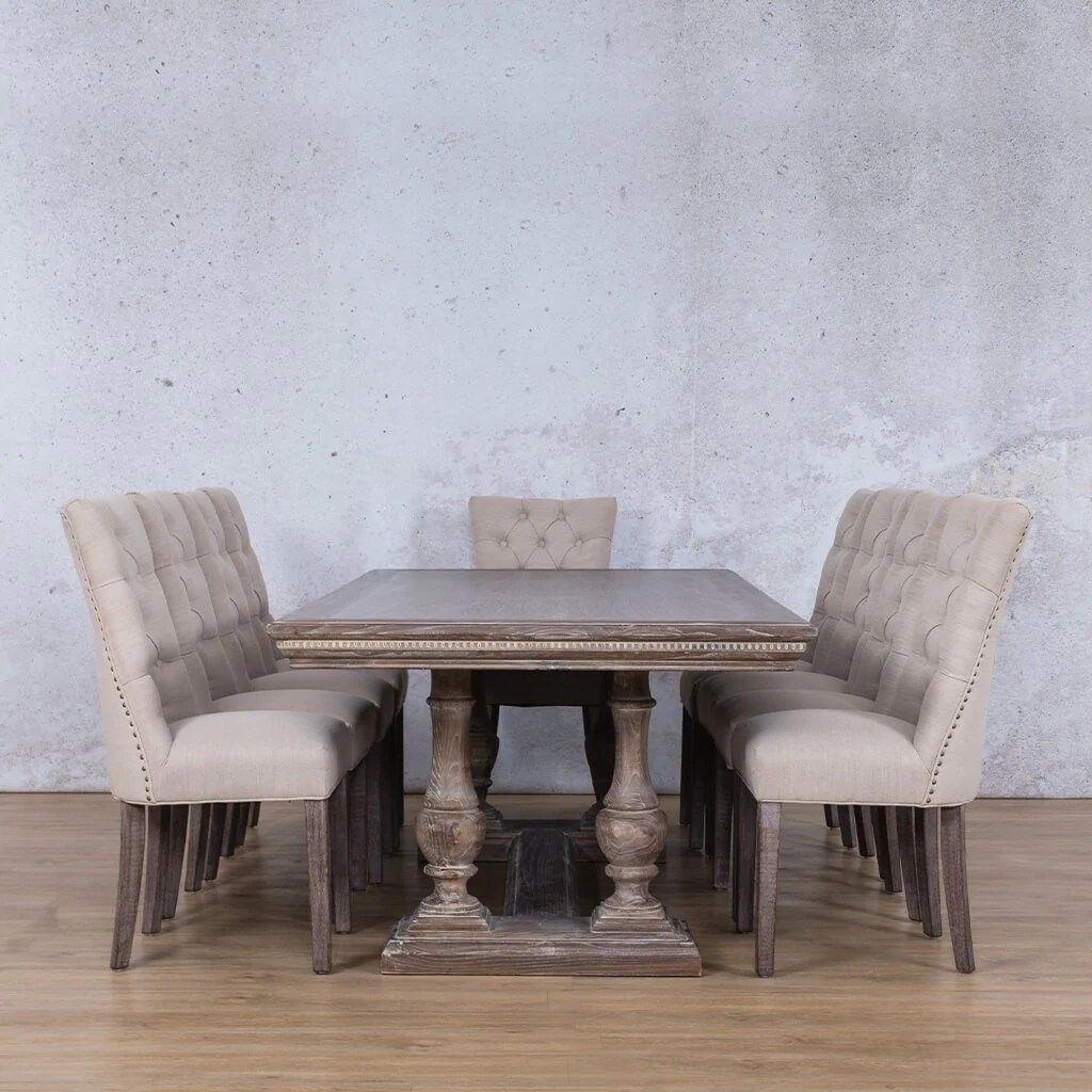 Charlotte Duchess Dining Set Dining Room Leather Gallery
