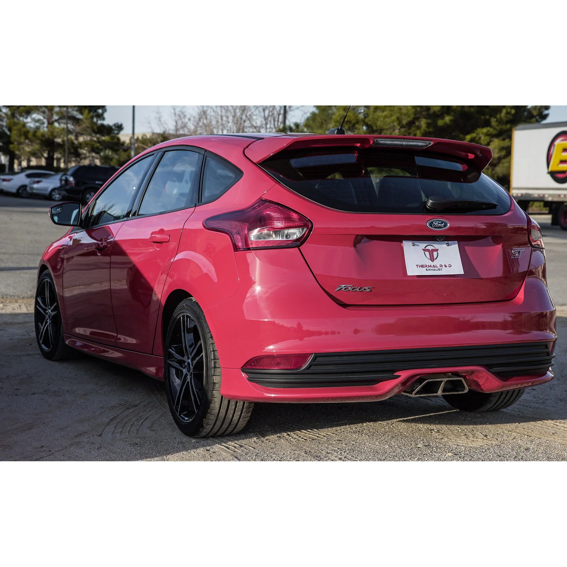 thermal r d cat back exhaust focus st