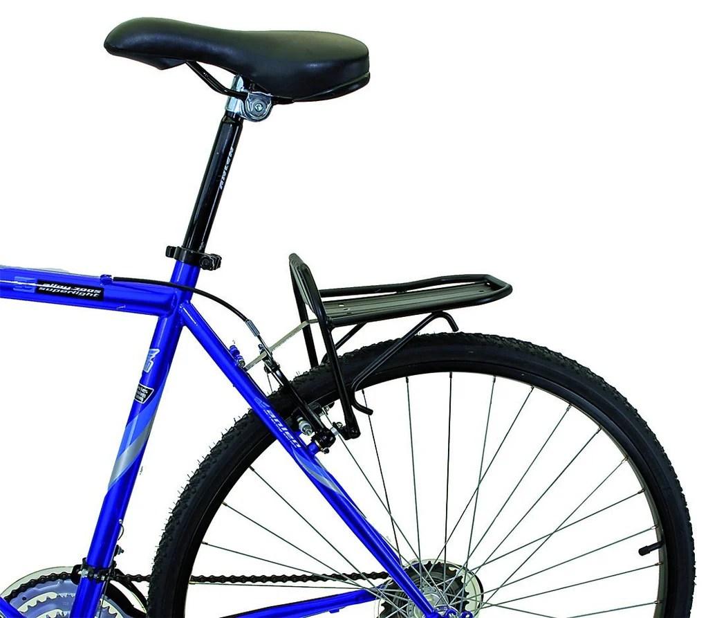 mini alloy front pannier rack bike
