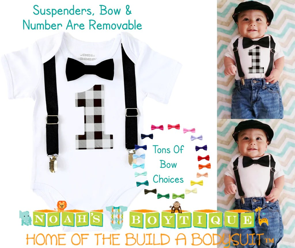 1st Birthday Boy Outfit Farm Animal First Birthday Shirt Clothing Respectforchange Tops