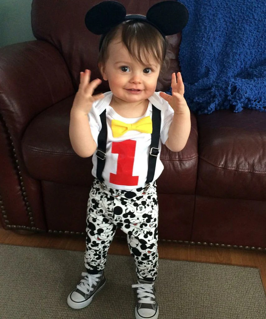 Mickey Mouse 1st Birthday Outfit Boy 1st Birthday Ideas