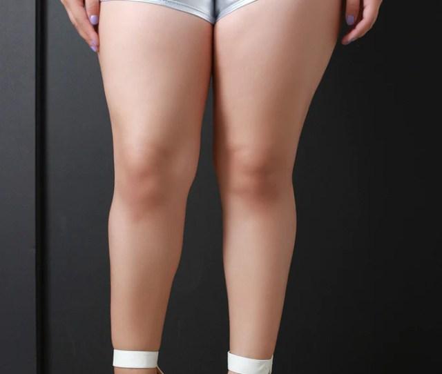 Metallic Booty Spandex Shorts