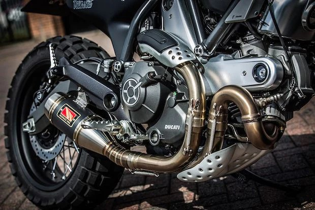 Ducati Scrambler Icon Exhaust By