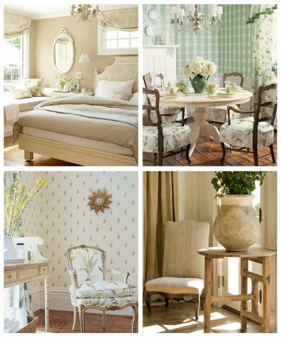Floral French country