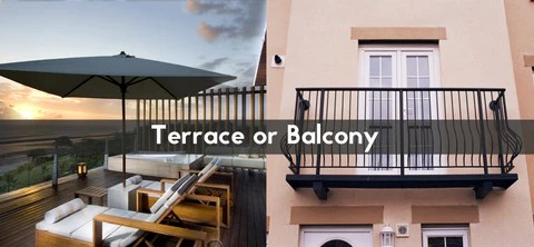 What Is The Difference Between And A Terrace Amp A Balcony
