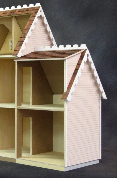 Colonial Junior Addition Two Story Dollhouse Junction