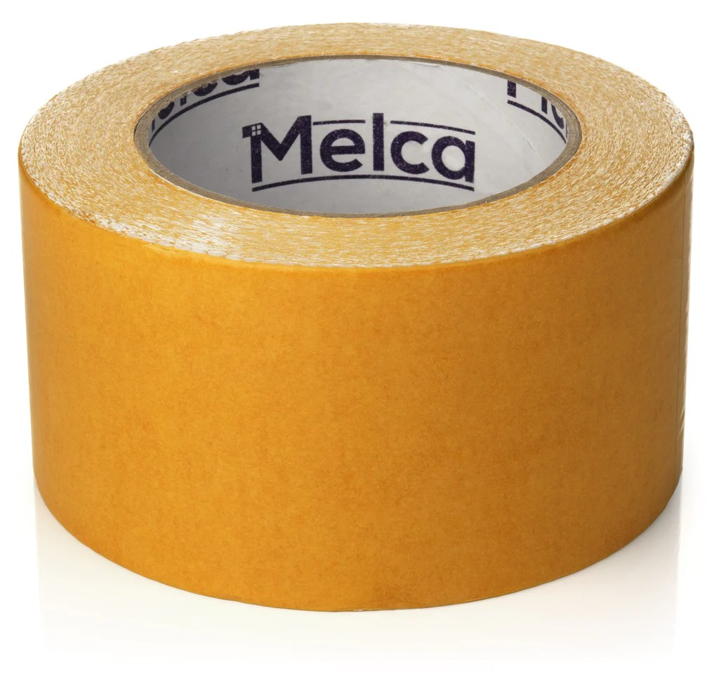 Melca Double Sided Carpet Tape     2 5 Inch Heavy Duty Rug Adhesive  30     Melca Double Sided Carpet Tape     2 5 Inch Heavy Duty Rug Adhesive  30  Yards