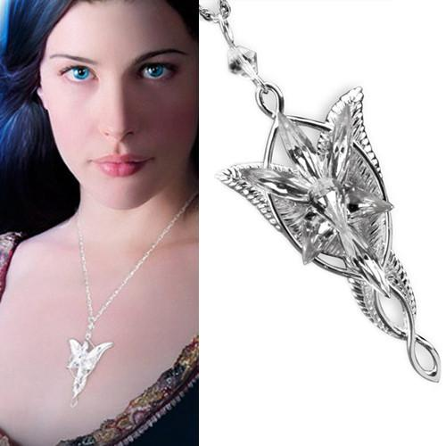 Lord Of The Rings Arwen Evenstar Pendant Necklace IWISB