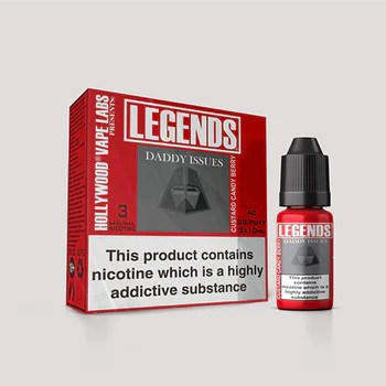 LEGENDS™ - Daddy Issues Custard Candy Berry 3 x 10ml