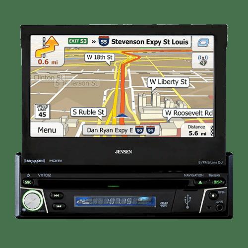 Jensen Vx7012 Navigation Receiver Freeman S Car Stereo