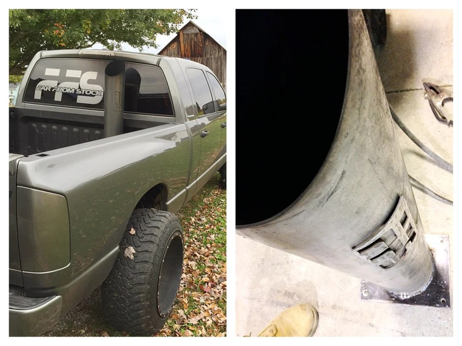 ffs 7 or 8 exhaust stack w install kit