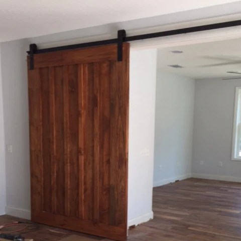 Board Amp Batten Interior Sliding Barn Door