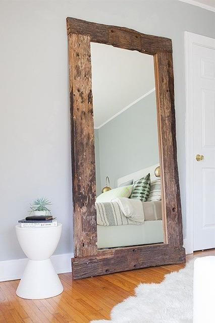reclaimed wood mirrors tagged mirror