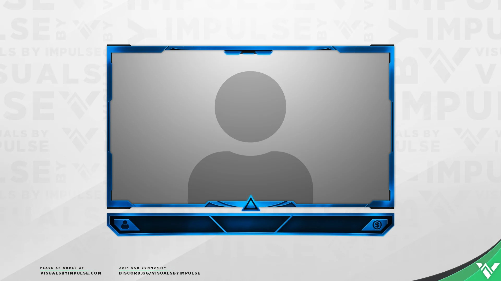 Prism Webcam Overlay Free Stream Template For Twitch Mixer