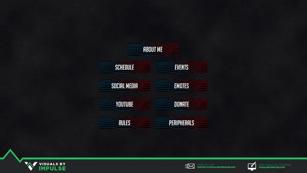 Lines Twitch Panels Visuals By Impulse