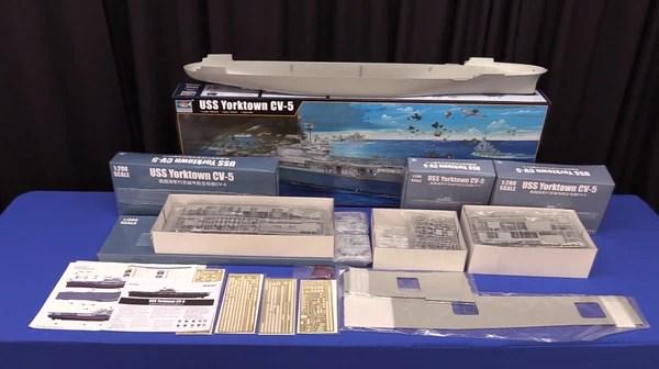 Trumpeter Ship Models 1 200 Uss Yorktown Cv5 Aircraft