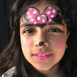 Minnie Mouse Face Paint Video Tutorial By Kiki Facepaint Com