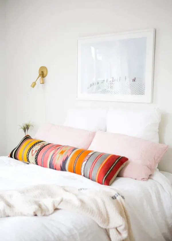 done extra long lumbar pillow