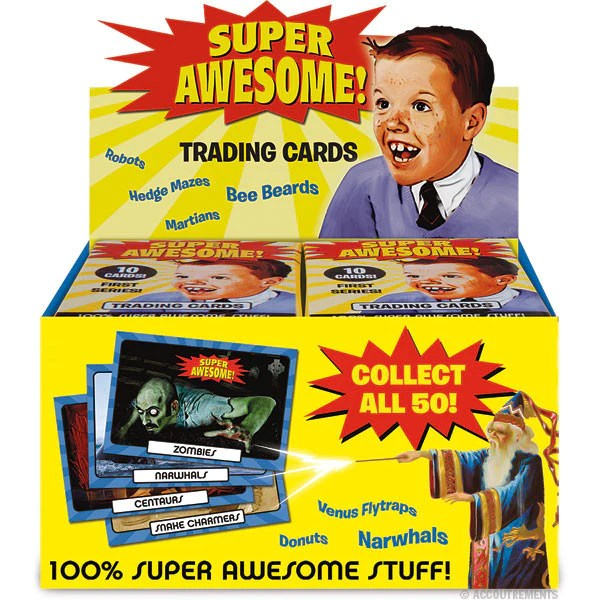 Super Awesome Trading Cards Box Of 24 Packs Archie