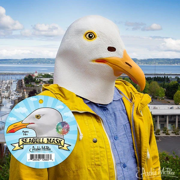 Seagull Mask Archie McPhee