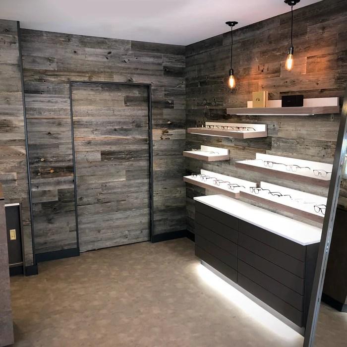 Grey Wood Wall Panelling Grey Reclaimed Wood Wall Grey Wall Panels