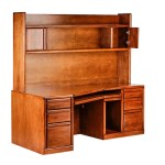 Forest Designs Bullnose Alder Angled Computer Desk Hutch 74w X 71h Forest Designs Furniture