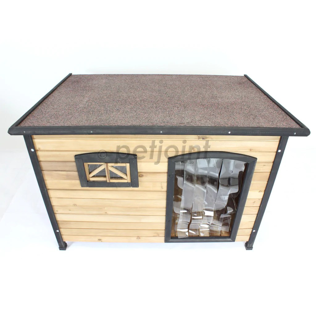 Extra Large Xl Wooden Pet Dog Kennel House Indoor