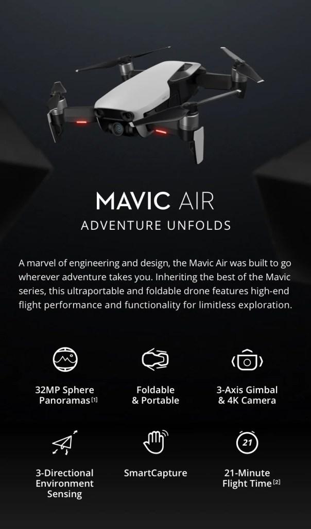 1 - DJI Mavic Air