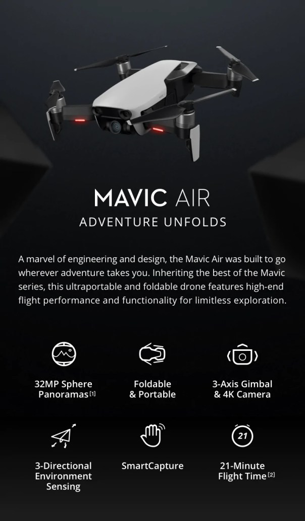 1 - DJI Mavic Air