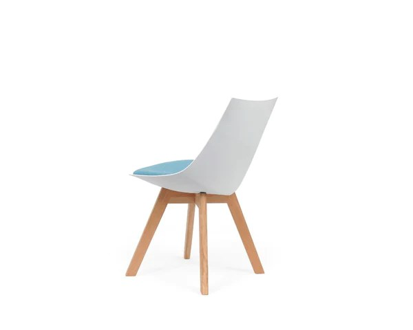Circle Chairs White Luna