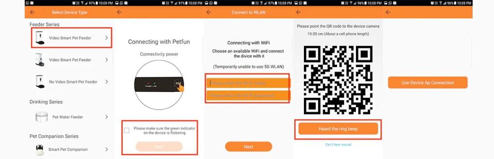 Install Guide For Petfun - Smart Pet Feeder