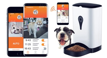 Smartpaw Premium Smart Pet Feeder is suitable for both dogs and cats