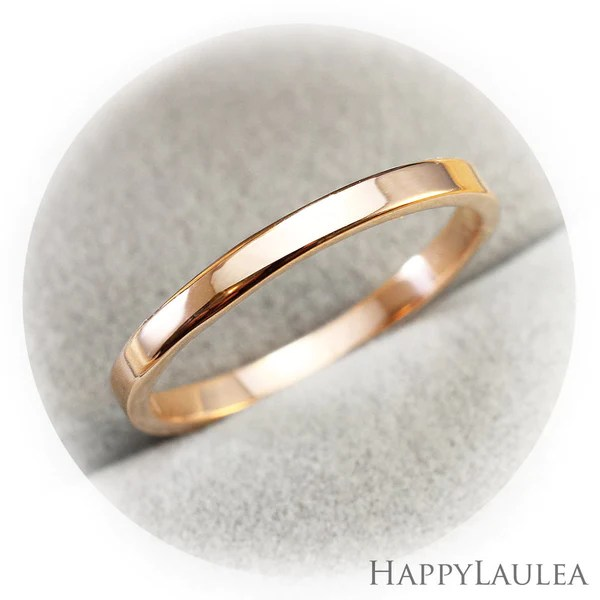 14K Solid Gold 2mm Simple Wedding Band Gold Wedding Ring