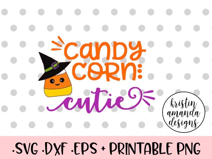 Download Candy Corn Cutie Halloween SVG DXF EPS PNG Cut File ...