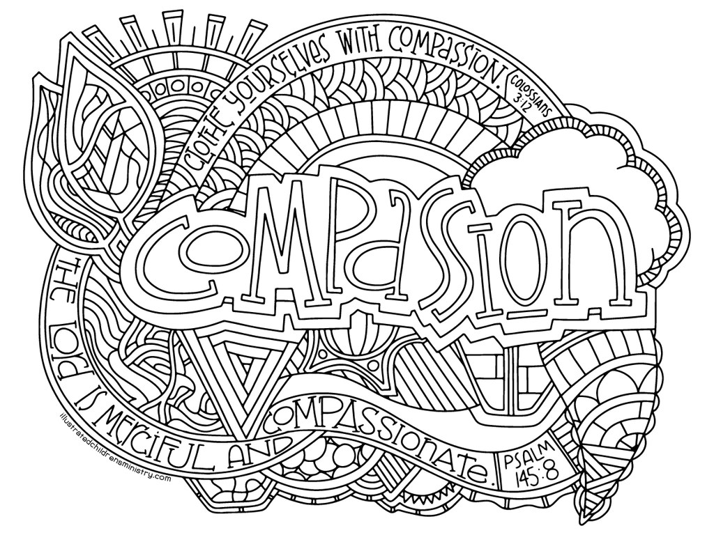 Illustrated Passion Coloring Pages Illustrated Children