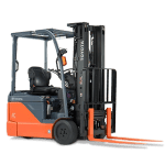 3-Wheel Electric Toyota Forklift