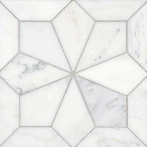 geometric tiles as geometric floor