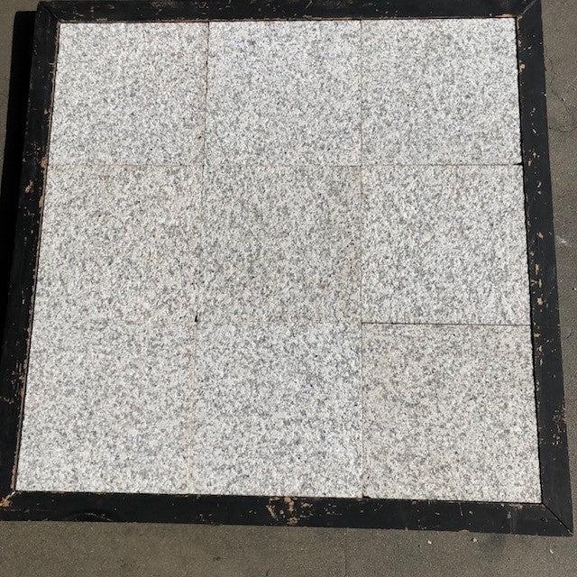 luna pearl granite tile flamed