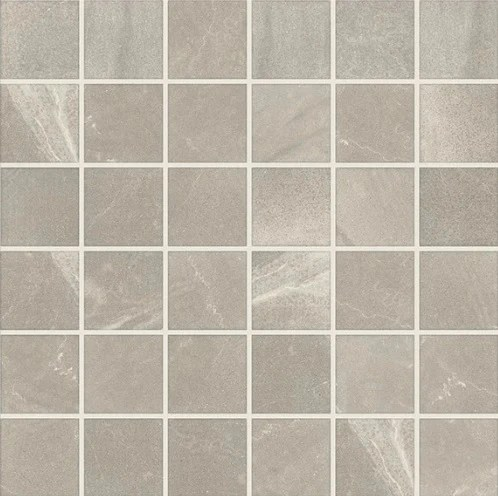 merit light gray porcelain mosaic 2 x 2