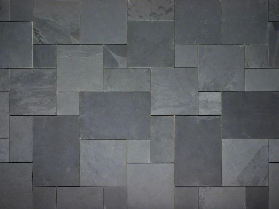 black slate flooring stone tile