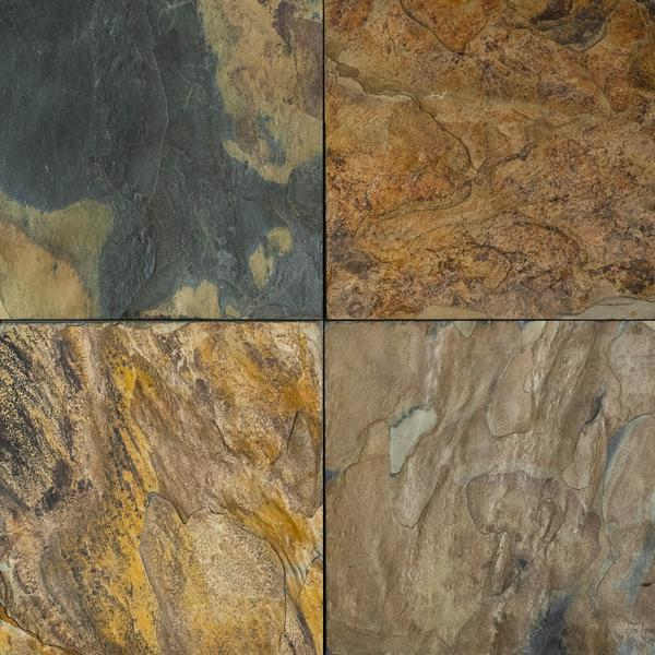 california gold slate tile natural cleft face gauged back