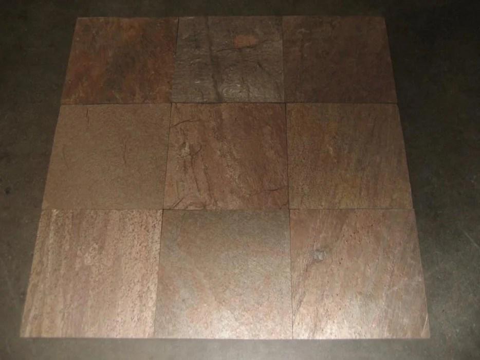 copper slate tile natural cleft face