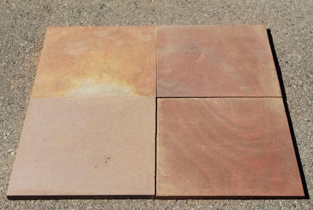 multi color red slate tile natural cleft face back