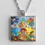 Trippie Redd Life S A Trip Album Cover Art Pendant Necklace Hollee