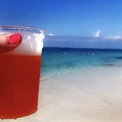 Rum Punch Ozmosis Bar Turks & Caicos