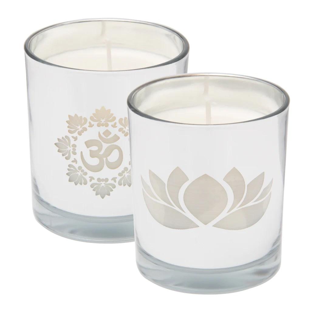 Lotus Amp OM Serenity Soy Candles Zenmaste