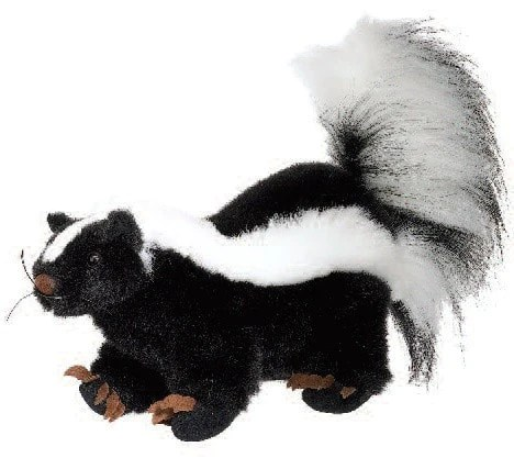 Stuffed Animal Skunk 10 Fiesta Plush Friends