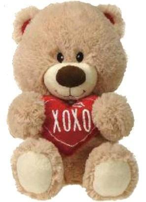 Valentine S Day Xoxo Teddy Bear 15 Fiesta Plush Friends